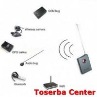 RF/Lens Multifunction Bug Detector - TD1 - Black