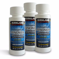 Kirkland Minoxidil 5% (DAPAT PIPET PLASTIK) UNTUK BOTAK, BREWOK