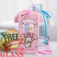 Softcase 3D Cute Cartoon My Melody Tpu Rubber Soft Case Oppo F1s - A59