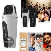 Microphone Karaoke Smule Smartphone PC KTV Baru | Headset
