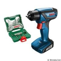 Paket Bosch Gsr 1000 Bor Obeng Cordless + Mata Bor X-Line Bosch 33 Pcs