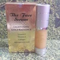 Harga the face serum lightening gold radiance vit c vit e | antitipu.com