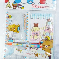 Stationary Set Alat Tulis Rilakkuma