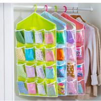 Tempat Penyimpanan Kaos Kaki Pakaian Dalam /Hanging Bag Organizer X423