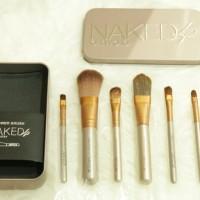 Jual Brush / Kuas Make Up NAKED isi 7pcs / 7 pcs / 7 piece - KALENG Murah