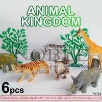 Figure Animal Kingdom/Hewan Hutan/Jungle-Zoo-Toy-Mainan-Pajangan-VB156