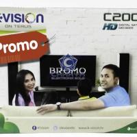 K Vision C2000 Bromo HD Receiver C band Decoder Parabola