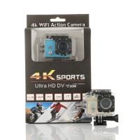 PAKET Sportcam 4k Ultra Hd 16 Mp Wifi 1080p + Tongsis 3 Way Monopod