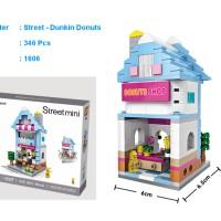 LOZ Mini block Street Shop - 1606 - Dunkin Donuts