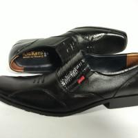 harga Sepatu Kulit Kickers Pantofel D-149 Tokopedia.com