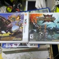 Kaset 3ds 2nd Monster Hunter 4 Ultimate Dan Monster Hunter Generations