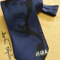 Dasi Gambar Bruce Lee - Dasi - Dasi Murah