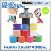 harga Sport Elastic Kinesio Tape Medical Bandage Injury Support -Multi-Color Tokopedia.com