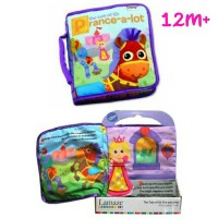 Lamaze Baby Soft Book / Buku Kain Bayi AnakPrance A Lot For 12m+