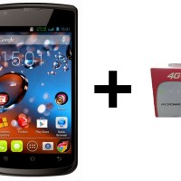 Smartfren Andromax C3 - Hitam (Free Modem Mifi M2y)