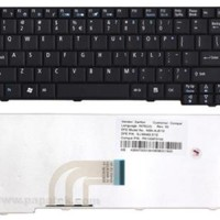 Keyboard laptop/notebook acer aspire one 531 hitam/putih original