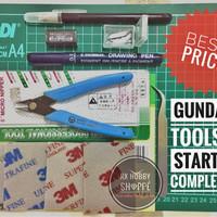 Jual Toolkit tool kit tool set toolset tools gundam tang amplas marker mat Murah