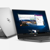 "Notebook DELL XPS 13 - Silver i7-6560U/8Gb/SSD 256Gb/13.3"" QHD/Win 10"