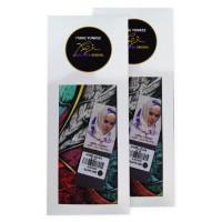 Hijabstore - Angel Lelga Original Scarf AL 040 - Black MotifAbstr