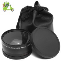 Wide Angle Lens 58mm 0.45x With Macro For Canon Eos 650d 50d 40d 400d