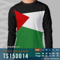 Kaos Dakwah Bendera Palestina