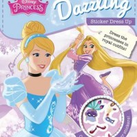 harga Disney Princess Dazzling Sticker Dress Up Tokopedia.com