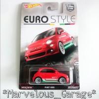 Hot Wheels Euro Style Fiat 500