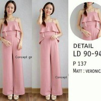 Jumpsuit Anastasya Dusty Pink