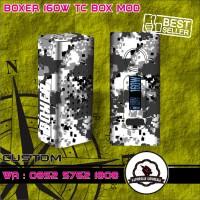 harga Garskin vapor Boxer 160W TC BLACK CAMO Tokopedia.com