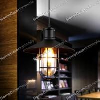 jual lampu gantung pendant hias industrial modern besi