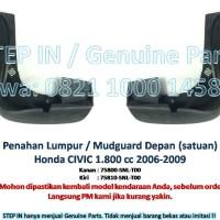Penahan Lumpur DEPAN Mudguard Honda CIVIC 1.8cc 2006-09 Mud Guard Asli