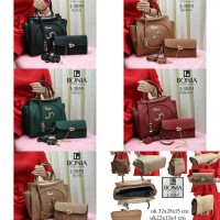 Tas Bonia Set 3055 | Tas Import Tas Murah Tas Branded