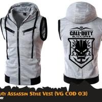 Rompi Jaket Anime Game Call Of Duty Assassin Vest Hoodie (VG COD 03)