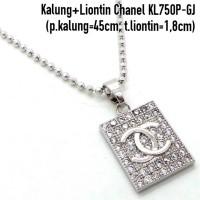 Xuping Yaxiya Meili Kalung Liontin (Anting Cincin Gelang) KL750P-GJ