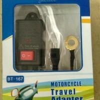 harga Motorcycle Travel Adaptor / Charge Hp Motor / Chasan Tokopedia.com