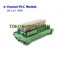 8 channel Omron PLC control panel relay module G2R-1-E 16A 24V DC NPN