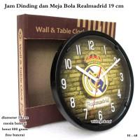 jam Dinding Murah / Jam Meja Club Bola real madrid Mini 19cm