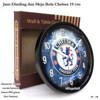 jam Dinding Murah / Jam Meja Club Bola chelsea Mini 19cm