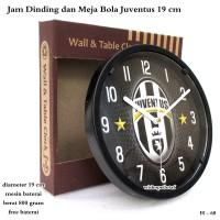 jam Dinding Murah / Jam Meja Club Bola juventus Mini 19cm