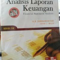 ANALISIS LAPORAN KEUANGAN by KR Subramanyam Murah