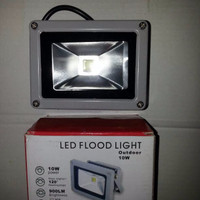 LAMPU SOROT LED 10 WATT/ LED FLOOD LIGHT OUTDOOR 10 WATT - 1101