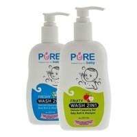 harga Pure Baby Wash 2 in 1 Sabun Mandi Soap Shampoo Shampo Bayi 2in1 Freshy Tokopedia.com