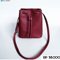 harga tas slingbag murah / tas serut / tas slingbag Tokopedia.com