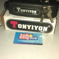 harga Griplock Kunci Stir Stang Sepeda Motor TONYIYON Grip Lock Bahan Besi Tokopedia.com