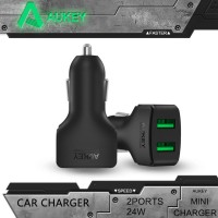 Jual Aukey CC-S3 Dual USB Ports Car Charger Murah
