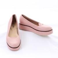 sepatu casual wanita azcost original handmade faux leather