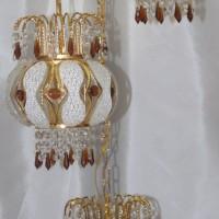 harga Lampu Tangga Kristal Lampion [free Bohlam Led] Tokopedia.com