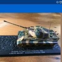 PZKFW Tiger II German Heavy Panzer tank 1:72 Diecast deagostini