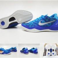 SEPATU BASKET KOBE 8 BLUE CORAL (Premium Import)