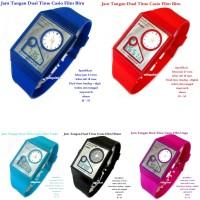 jam tangan digital Casio Film Watch Dual Time MURAH GROSIR